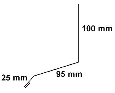 Mur inddækning 2. 2,00 Meter.